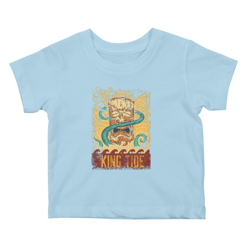 King Tide Kids Baby T-Shirt by Zerostreet's Artist Shop