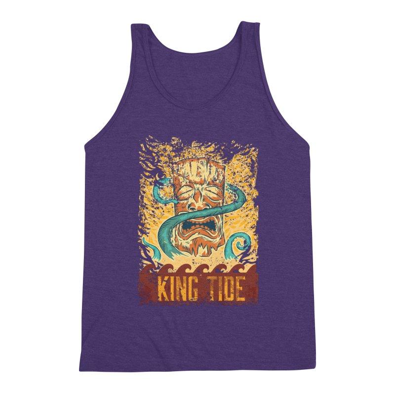 King Tide Men's Triblend Tank by Zerostreet's Artist Shop