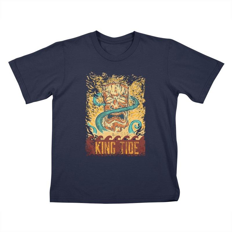 King Tide Kids T-Shirt by Zerostreet's Artist Shop