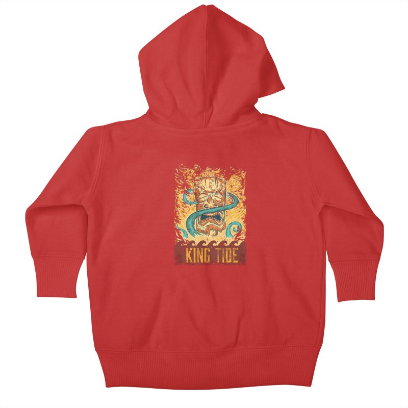 King Tide Kids Baby Zip-Up Hoody by Zerostreet's Artist Shop