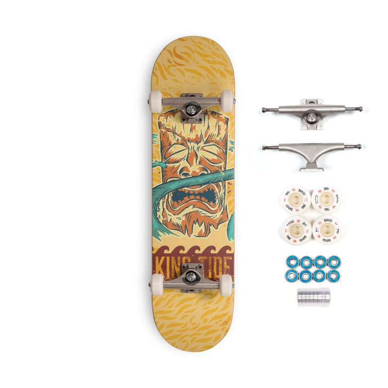 King Tide Accessories Complete - Premium Skateboard by Zerostreet's Artist Shop