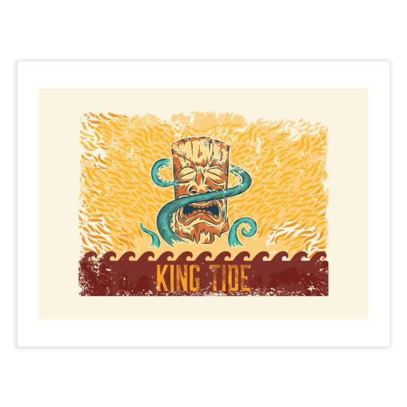 King Tide Home Fine Art Print by Zerostreet's Artist Shop