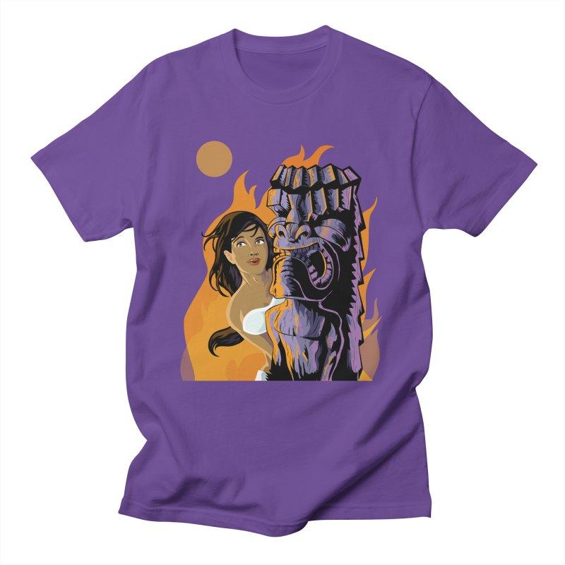 Wahine, Moon And Fire Women's Unisex T-Shirt by Zerostreet's Artist Shop