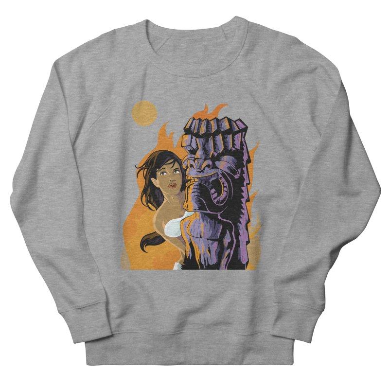 Wahine, Moon And Fire Women's  by Zerostreet's Artist Shop