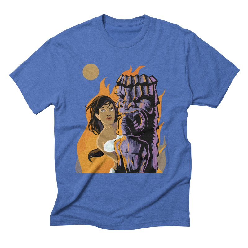 Wahine, Moon And Fire Men's  by Zerostreet's Artist Shop