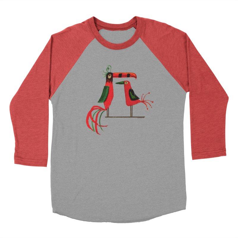 Tiki Birds Men's Longsleeve T-Shirt by Zerostreet's Artist Shop