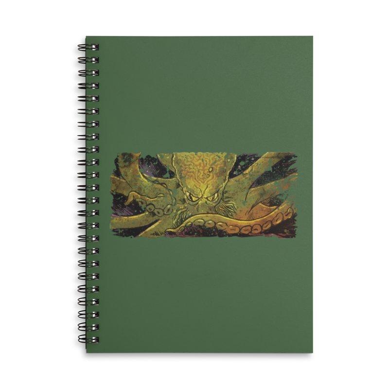 Kraken Rising Accessories Notebook by Zerostreet's Artist Shop