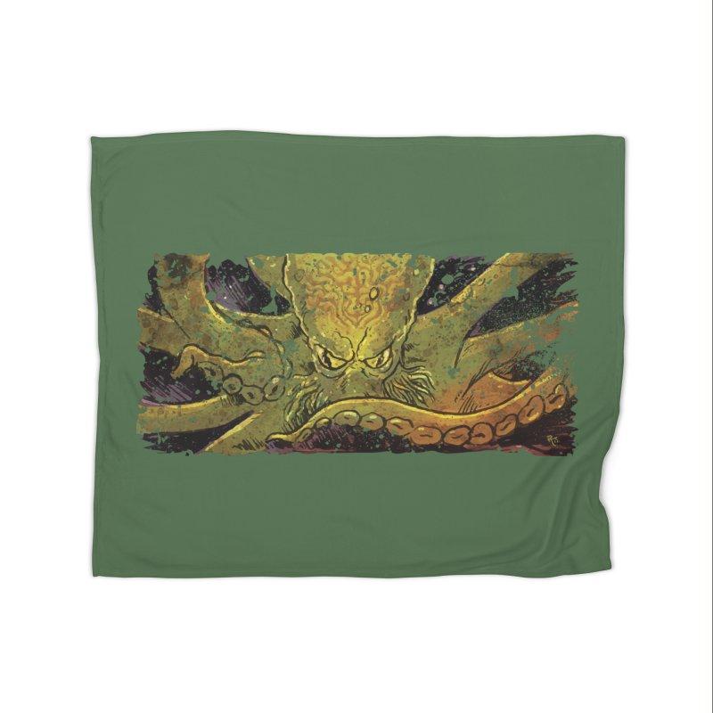 Kraken Rising Home Blanket by Zerostreet's Artist Shop