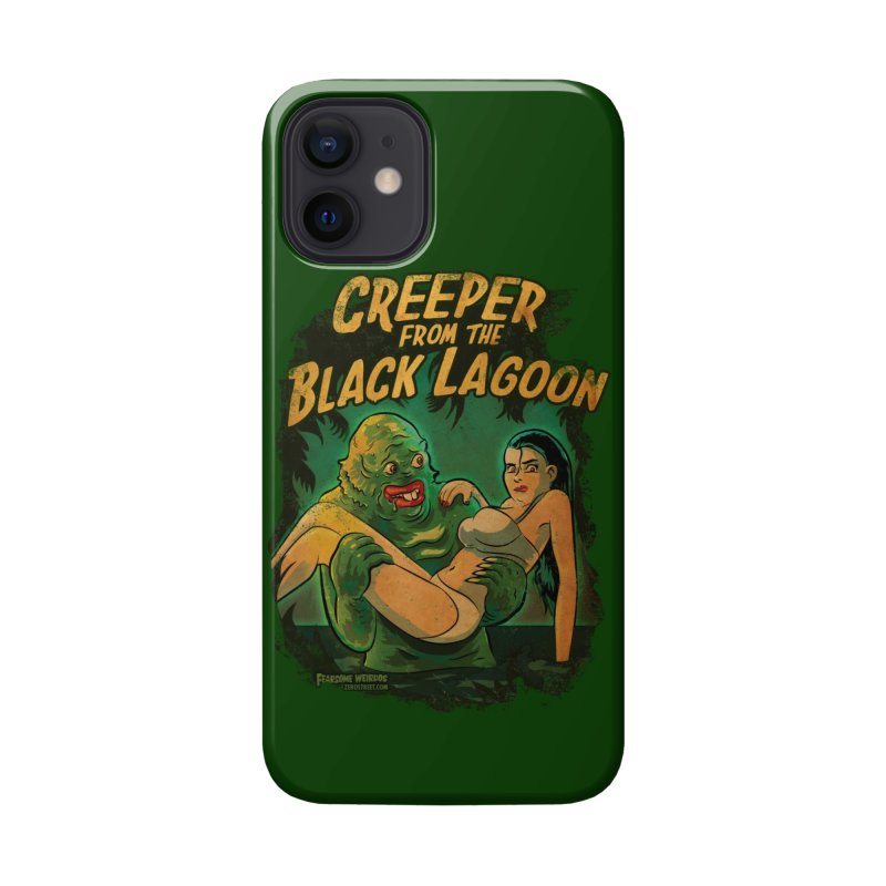 Creeper From The Black Lagoon Accessories Phone Case by Zerostreet's Artist Shop