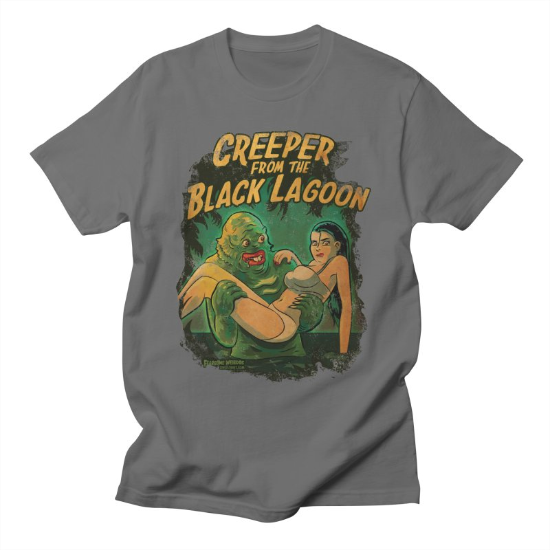 Creeper From The Black Lagoon Men's T-Shirt by Zerostreet's Artist Shop