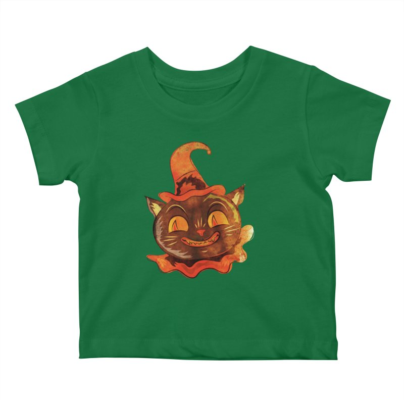 Clown Cat Kids Baby T-Shirt by Zerostreet's Artist Shop
