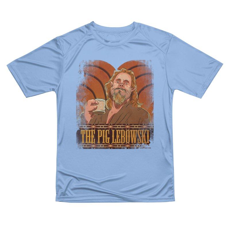 The Pig Lebowski Women's T-Shirt by Zerostreet's Artist Shop