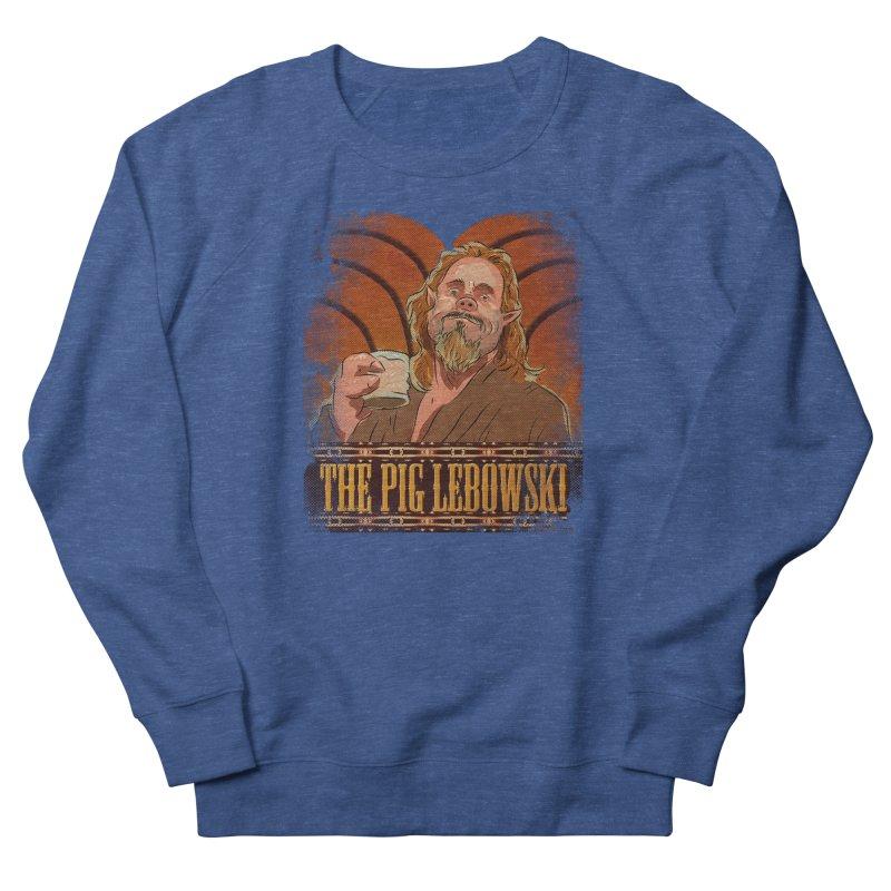 The Pig Lebowski Men's Sweatshirt by Zerostreet's Artist Shop