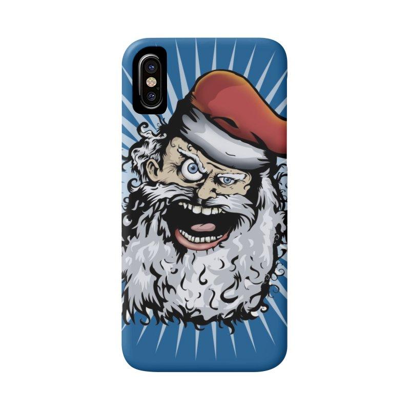 Pissed Santa Phone Case Accessories Phone Case by Zerostreet's Artist Shop
