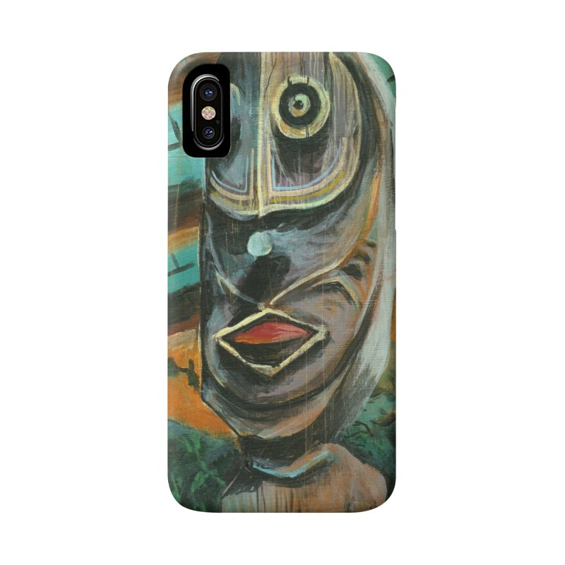 PNG TIKI Phone Case Accessories Phone Case by Zerostreet's Artist Shop