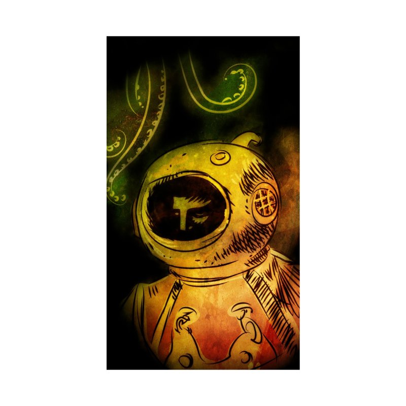 Deep Sea Diver Phone Case None  by Zerostreet's Artist Shop