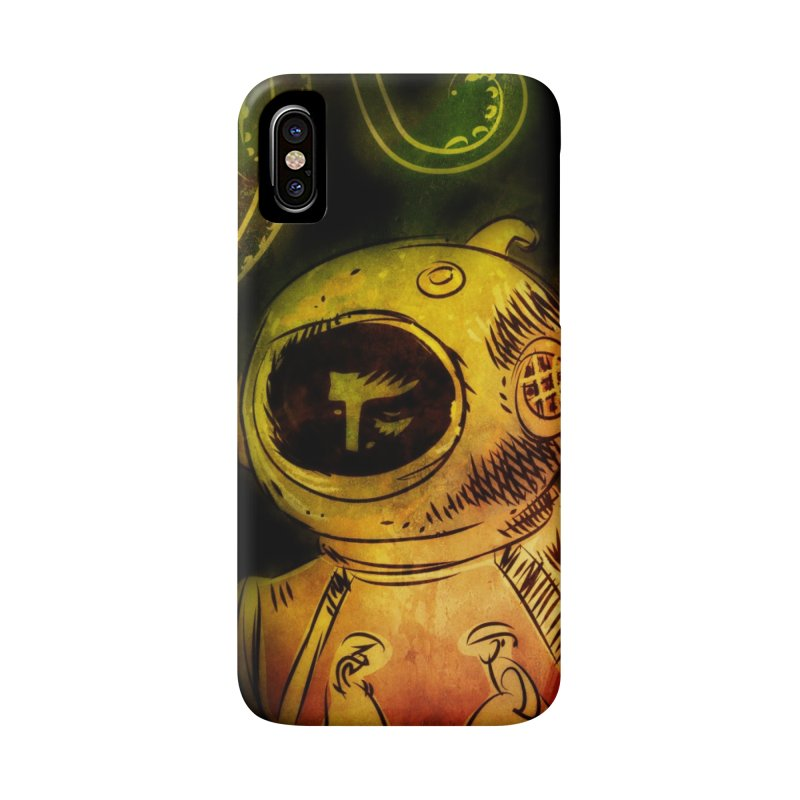 Deep Sea Diver Phone Case Accessories Phone Case by Zerostreet's Artist Shop