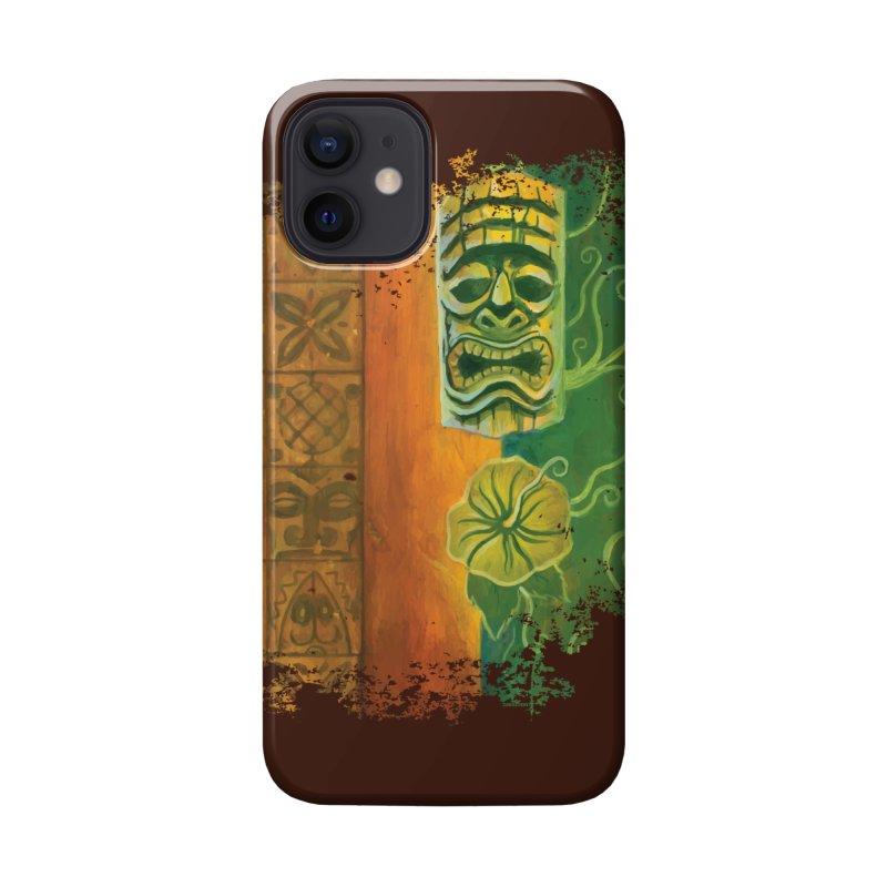 Tiki And Hibiscus Accessories Phone Case by Zerostreet's Artist Shop