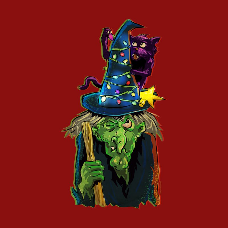 Witchmas Kids Baby T-Shirt by Zerostreet's Artist Shop