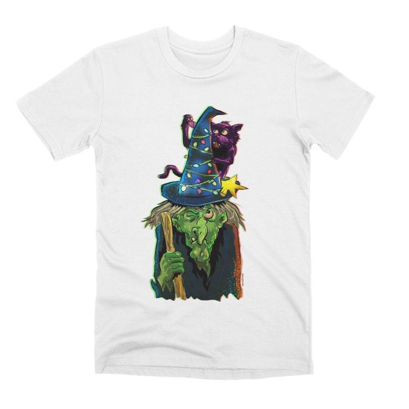 Witchmas Men's T-Shirt by Zerostreet's Artist Shop