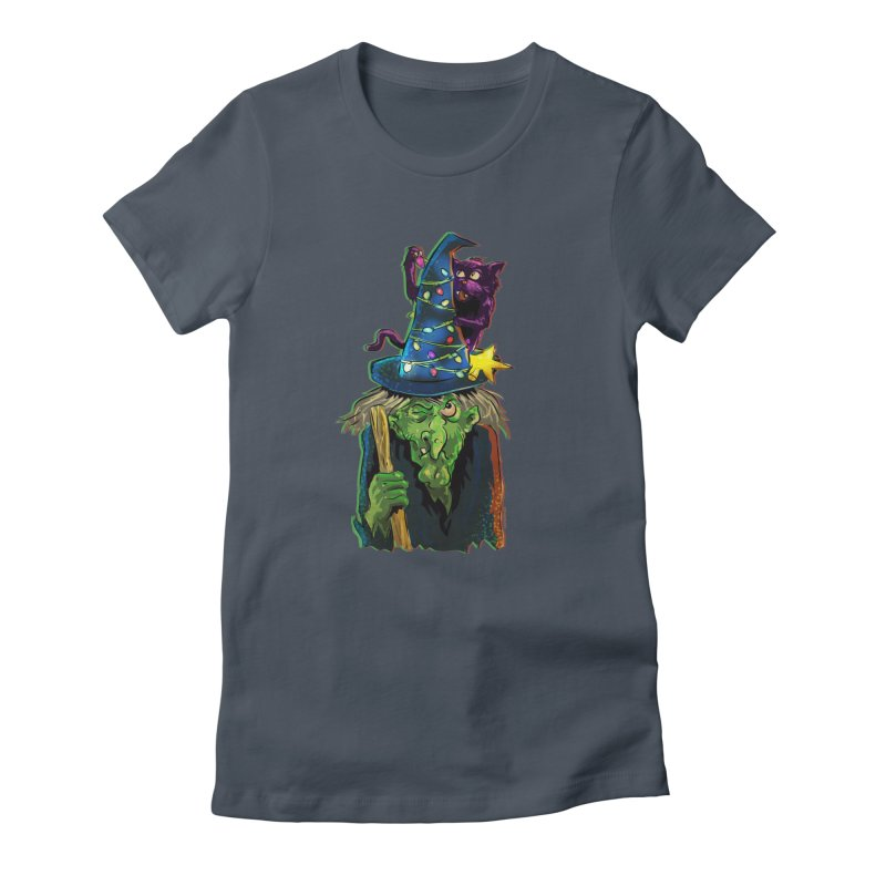 Witchmas Women's T-Shirt by Zerostreet's Artist Shop