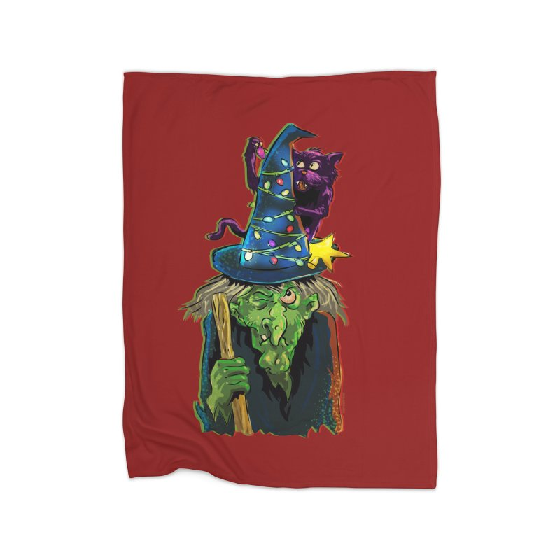Witchmas Home Blanket by Zerostreet's Artist Shop