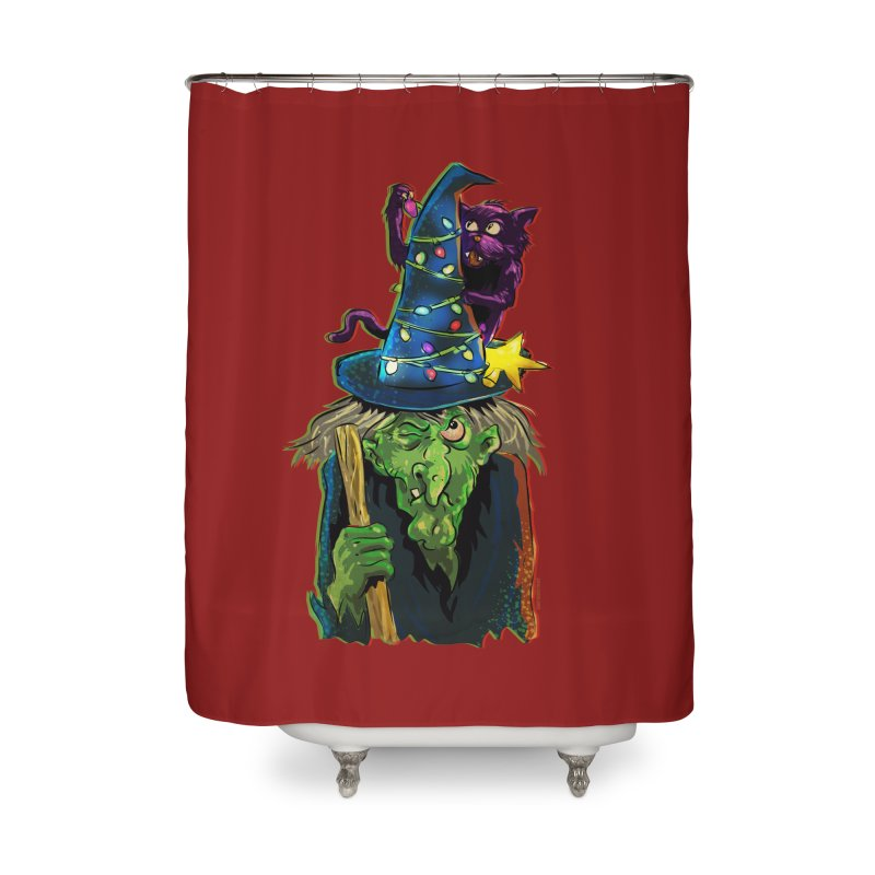 Witchmas Home Shower Curtain by Zerostreet's Artist Shop