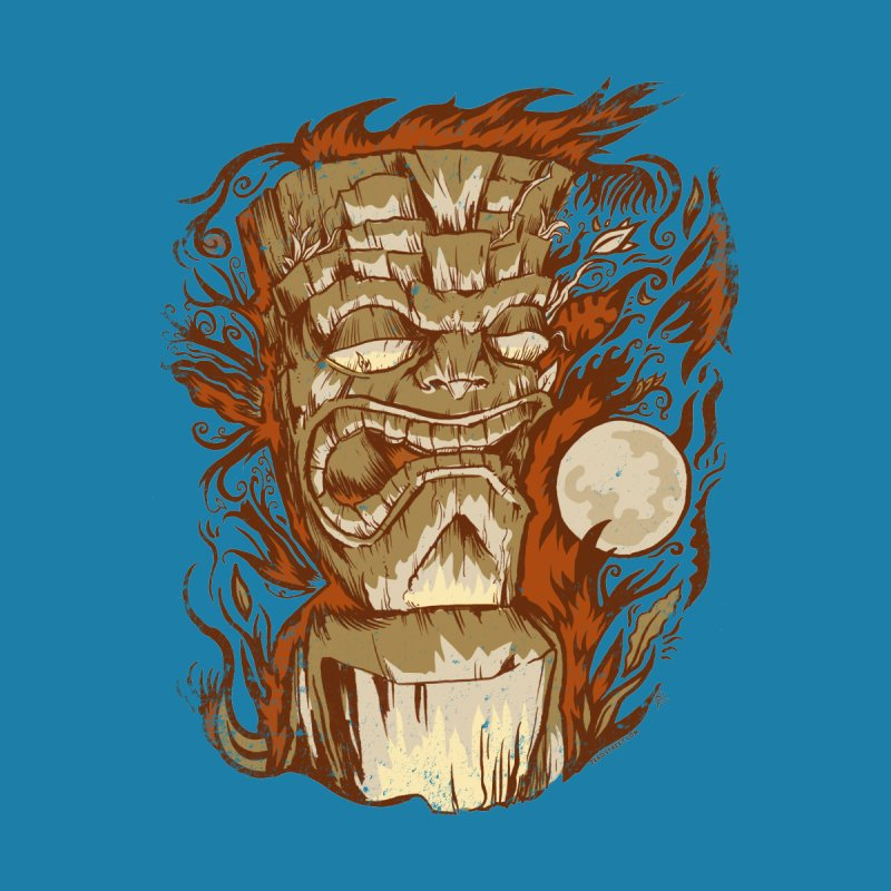 Tiki & Moon No. 16 Men's T-Shirt by Zerostreet's Artist Shop
