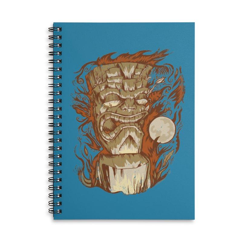 Tiki & Moon No. 16 Accessories Notebook by Zerostreet's Artist Shop
