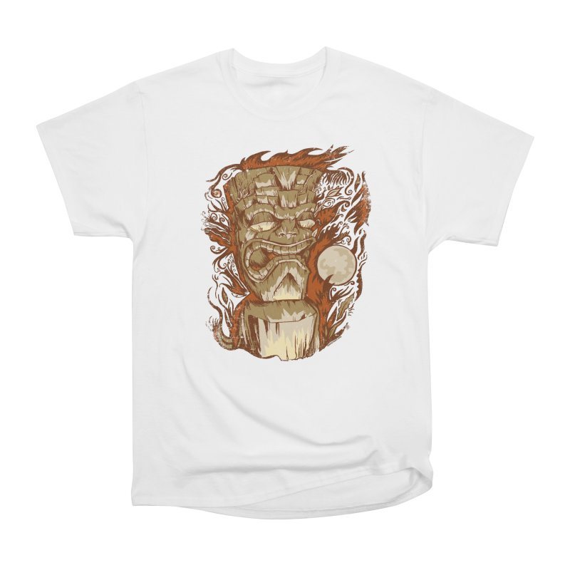 Tiki & Moon No. 16 Women's T-Shirt by Zerostreet's Artist Shop