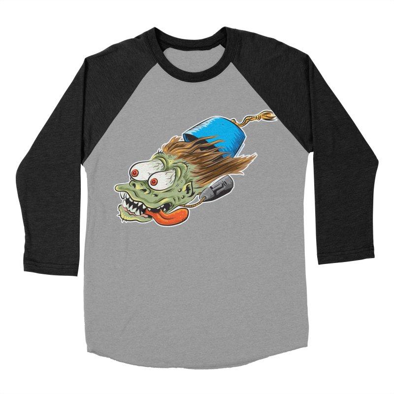 FEZZY Women's Baseball Triblend T-Shirt by Zerostreet's Artist Shop
