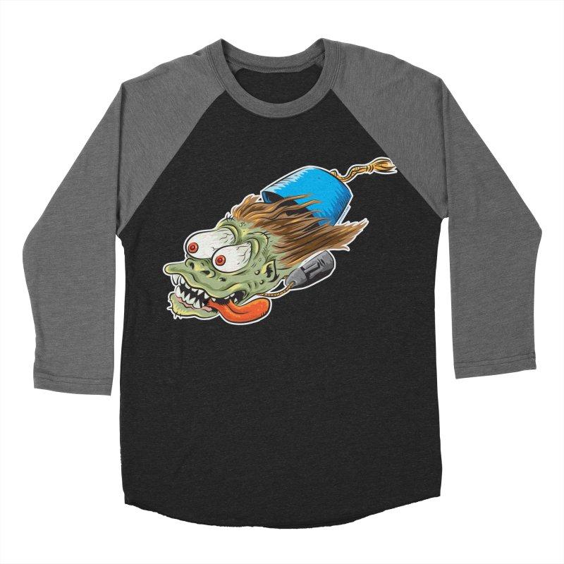 FEZZY Men's Baseball Triblend T-Shirt by Zerostreet's Artist Shop