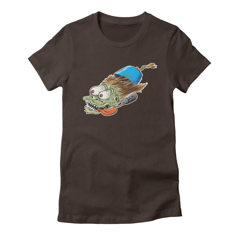 FEZZY Women's Fitted T-Shirt by Zerostreet's Artist Shop