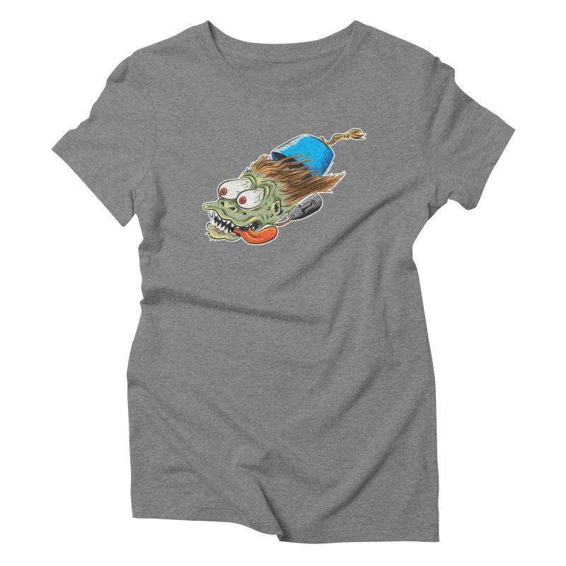 FEZZY Women's Triblend T-Shirt by Zerostreet's Artist Shop
