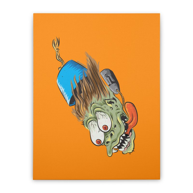 FEZZY Home Stretched Canvas by Zerostreet's Artist Shop
