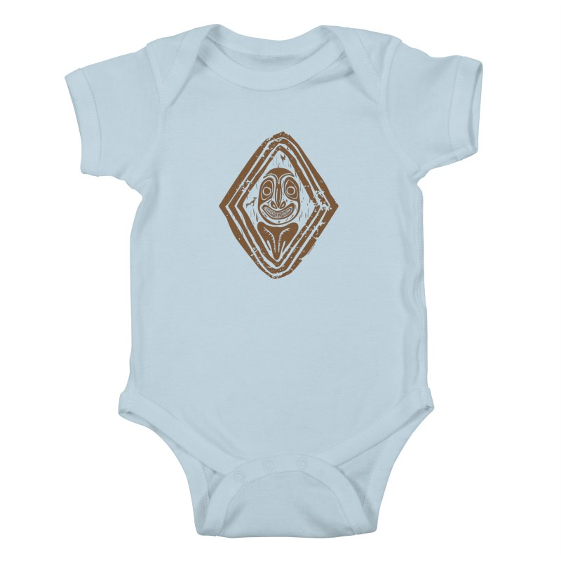 Smiling PNG Kids Baby Bodysuit by Zerostreet's Artist Shop