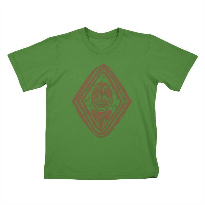 Smiling PNG Kids T-shirt by Zerostreet's Artist Shop