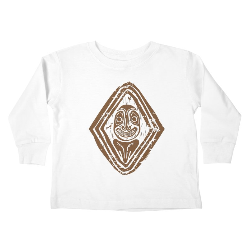 Smiling PNG Kids Toddler Longsleeve T-Shirt by Zerostreet's Artist Shop