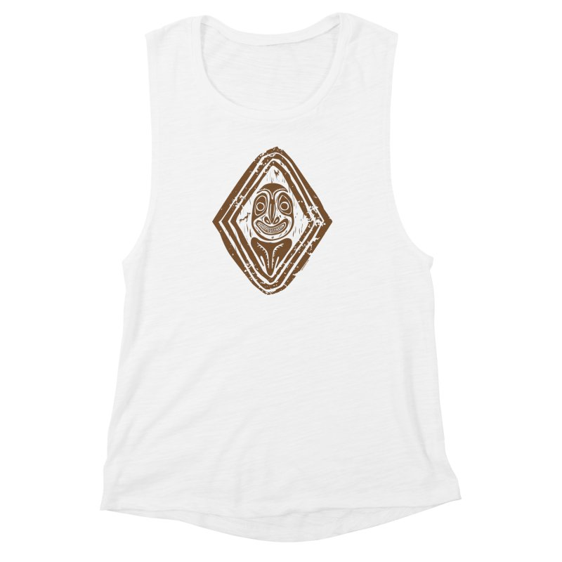 Smiling PNG Women's Muscle Tank by Zerostreet's Artist Shop