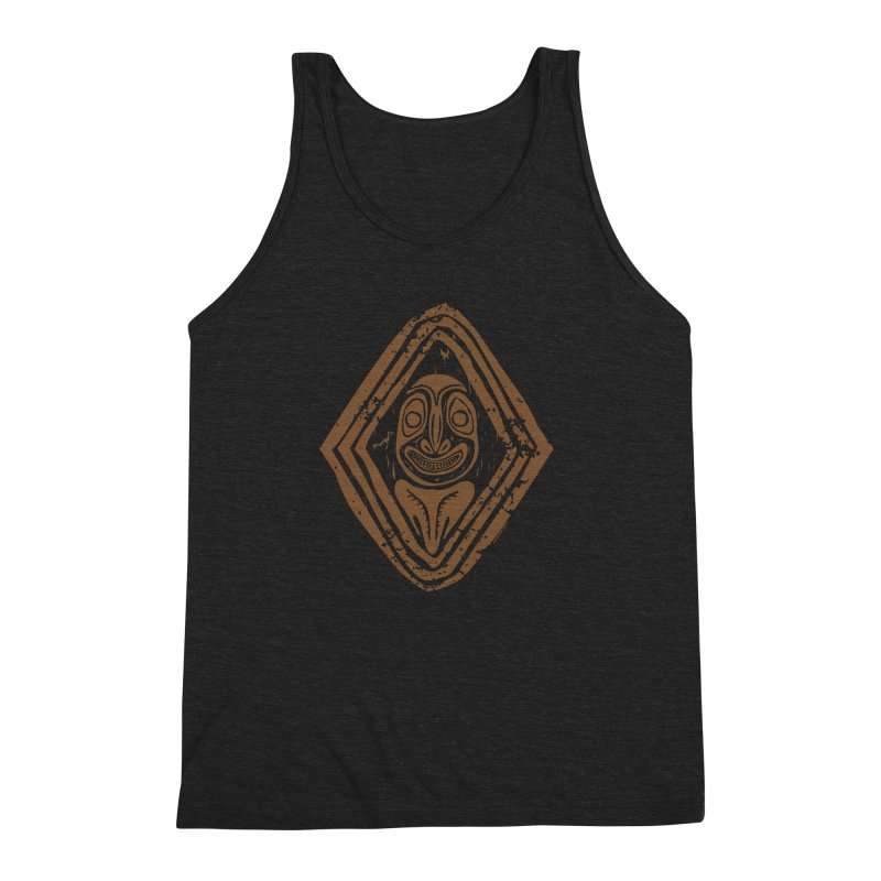 Smiling PNG Men's Triblend Tank by Zerostreet's Artist Shop
