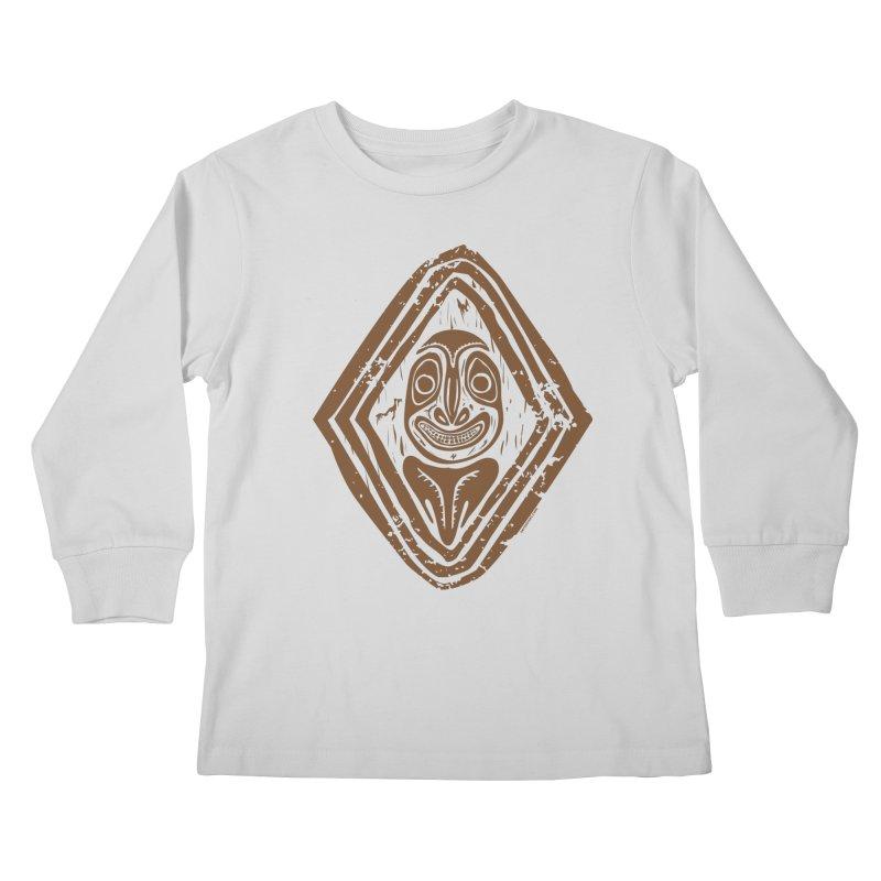 Smiling PNG Kids Longsleeve T-Shirt by Zerostreet's Artist Shop