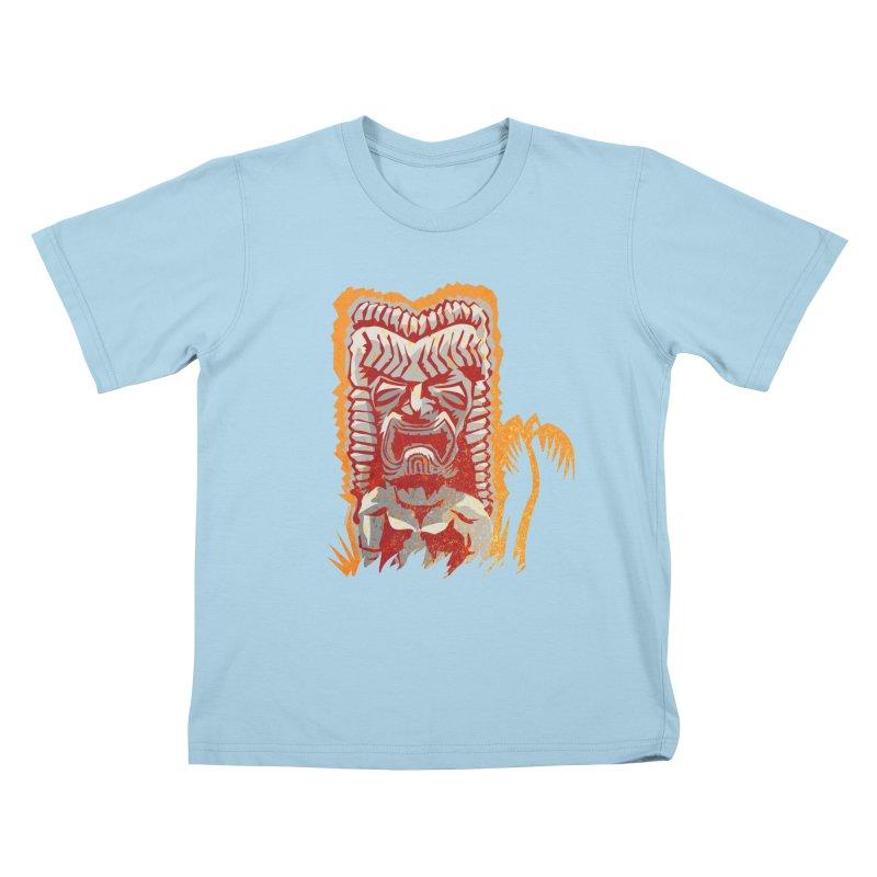 Ku #4 Kids T-shirt by Zerostreet's Artist Shop