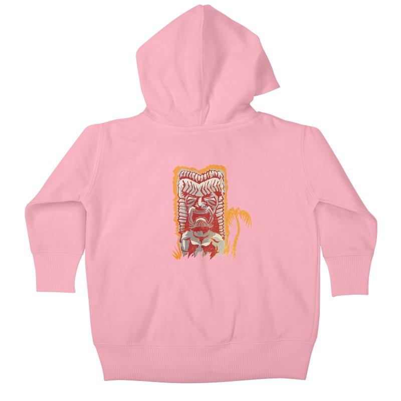 Ku #4 Kids Baby Zip-Up Hoody by Zerostreet's Artist Shop