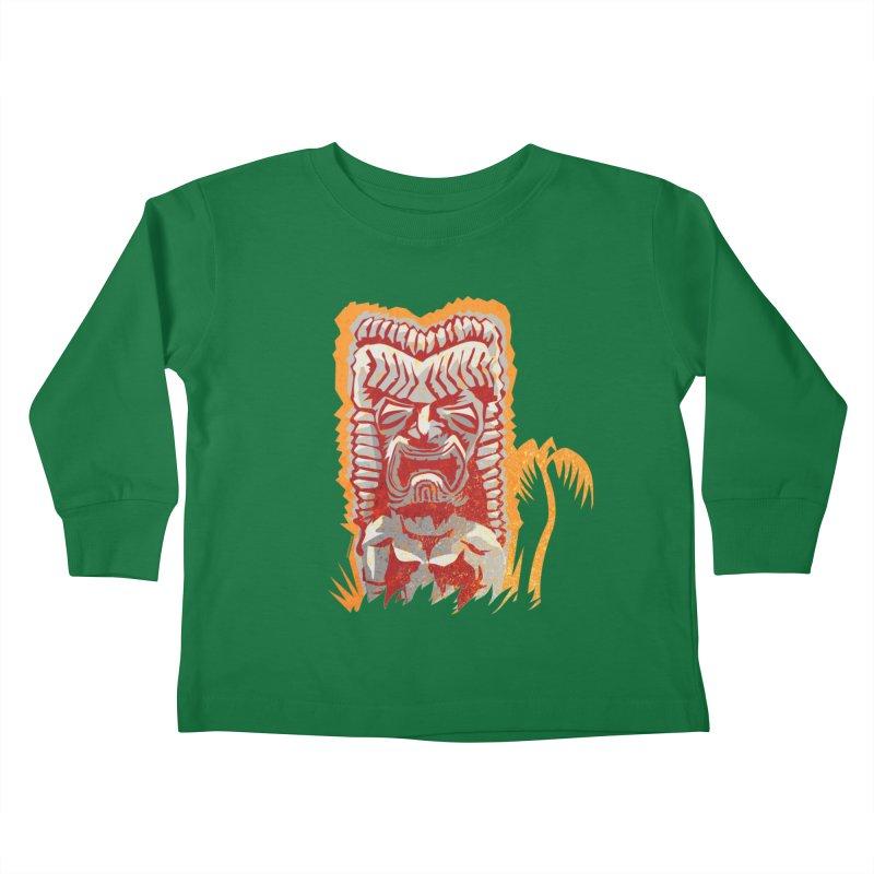 Ku #4 Kids Toddler Longsleeve T-Shirt by Zerostreet's Artist Shop