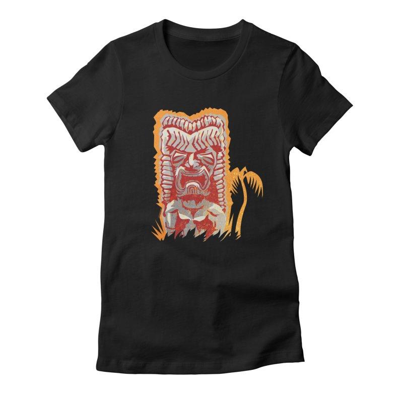 Ku #4 Women's Fitted T-Shirt by Zerostreet's Artist Shop