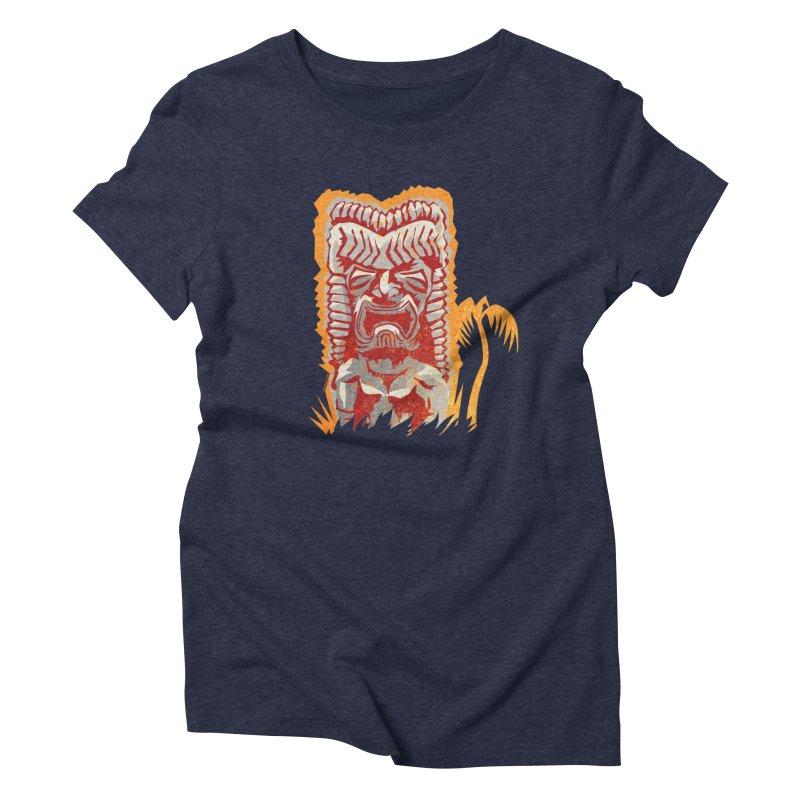 Ku #4 Women's Triblend T-Shirt by Zerostreet's Artist Shop