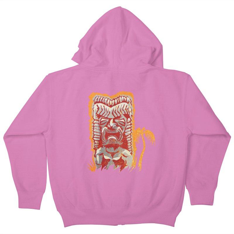 Ku #4 Kids Zip-Up Hoody by Zerostreet's Artist Shop