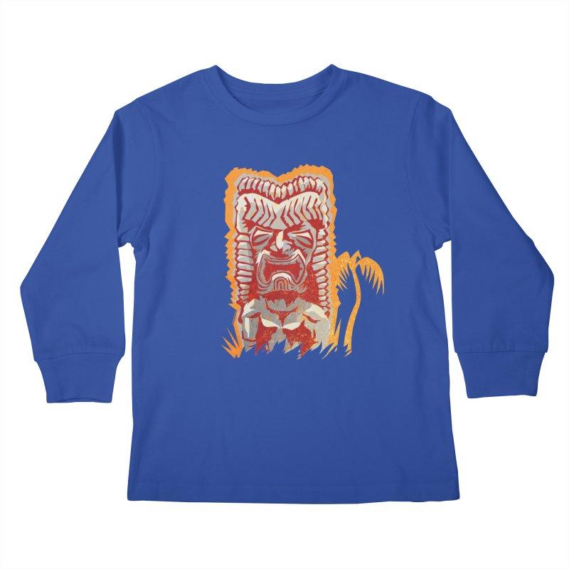 Ku #4 Kids Longsleeve T-Shirt by Zerostreet's Artist Shop