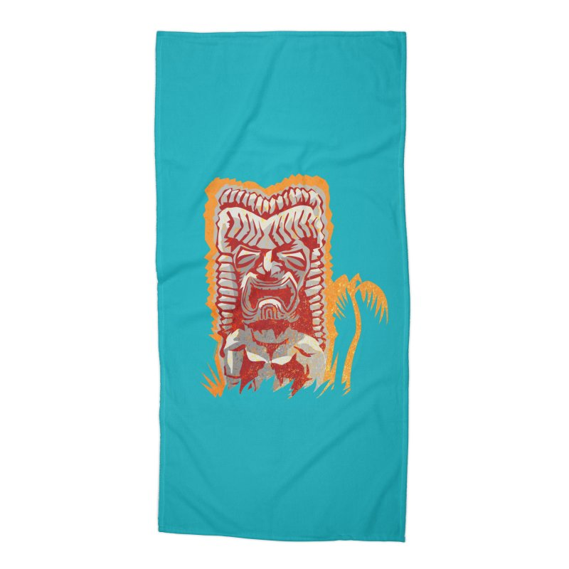 Ku #4 Accessories Beach Towel by Zerostreet's Artist Shop