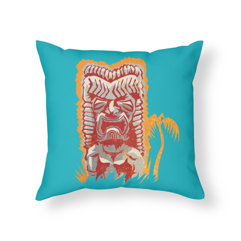 Ku #4 Home Throw Pillow by Zerostreet's Artist Shop